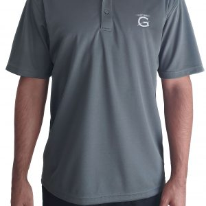 "Grey Gendarme ""G"" Polo Shirt"
