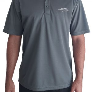 Grey Gendarme Polo Shirt