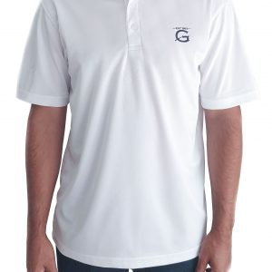 "White Gendarme ""G"" Polo Shirt"